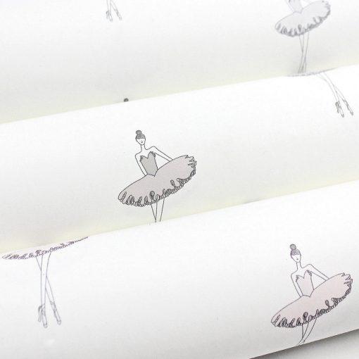 Nursery Ballerina Wallpaper | Little Crown Interiors Shop