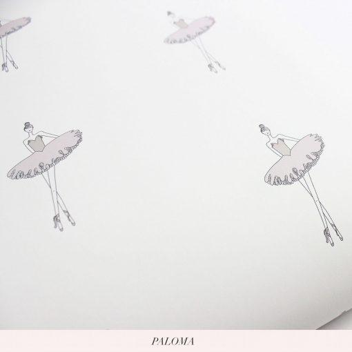 Nursery and Kids Ballerina Wallpaper | Little Crown Interiors Shop