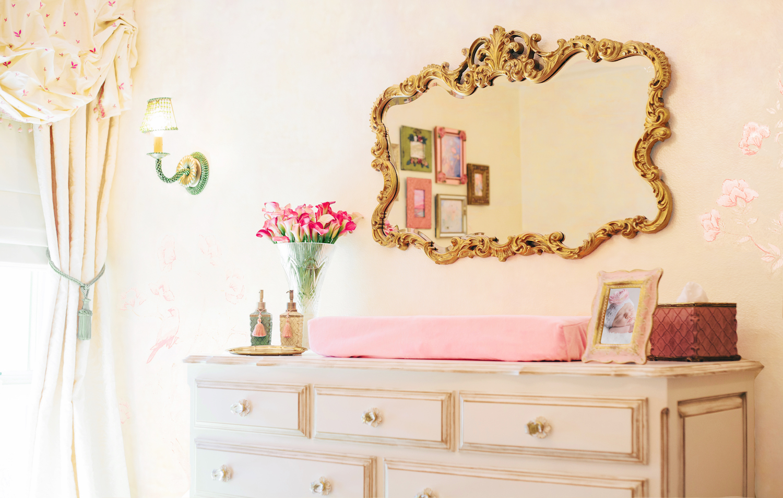 Girl's Nursery Design | Little Crown Interiors