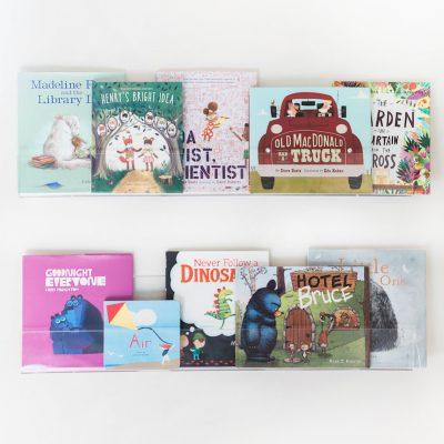 Kids Acrylic Wall Shelves   Little Crown Interiors Shop
