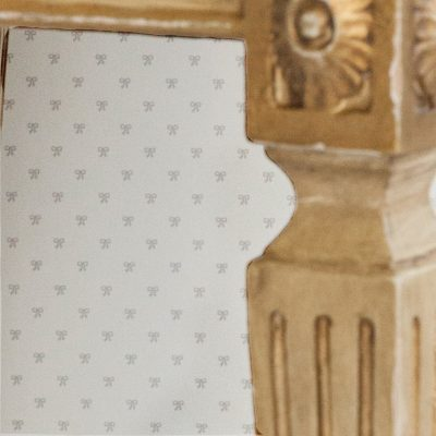 Mini Bows Wallpaper | Little Crown Interiors Shop