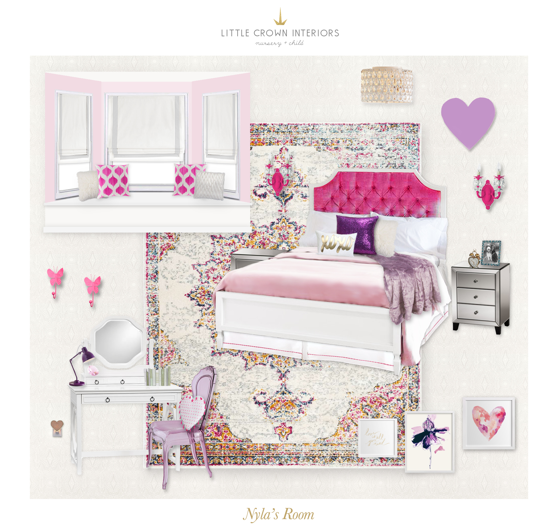 Awesome Childrenu0027s Room E Design By Little Crown Interiors