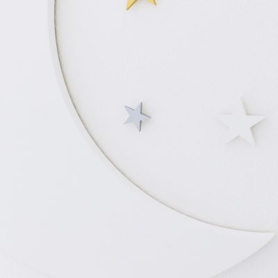 Crescent Moon and Stars Set | Little Crown Interiors Shop