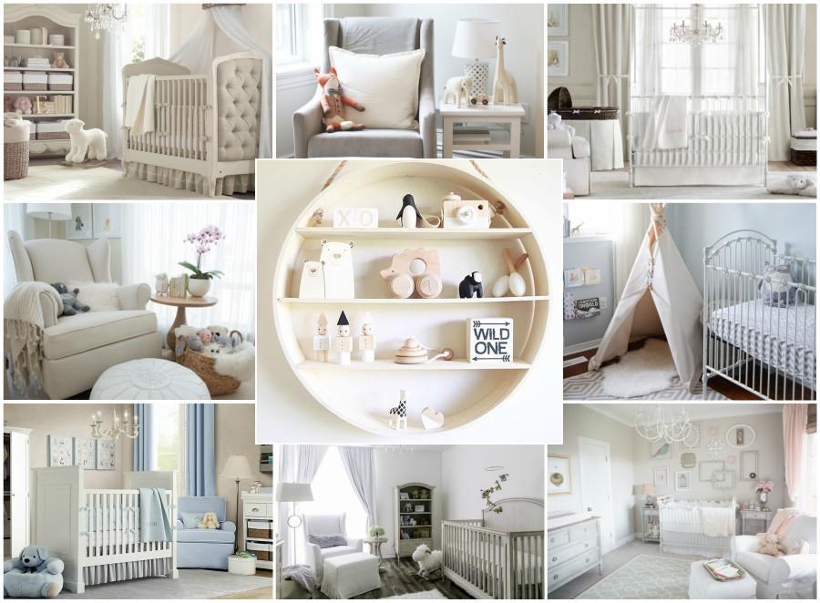 Sophisticated Nursery Ideas | Little Crown Interiors Blog