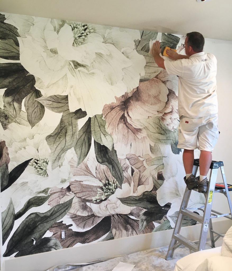 How To Use Wall Murals In The Nursery Little Crown Interiors