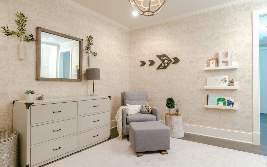 A Soft Neutral Nursery Design Reveal