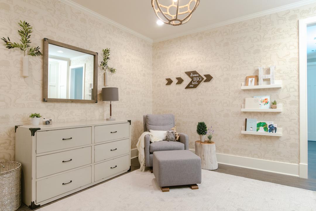 Neutral Nursery by Little Crown Interiors