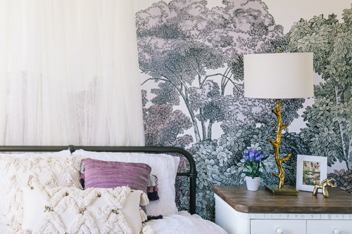 Nature Inspired Girl's Room | Little Crown Interiors