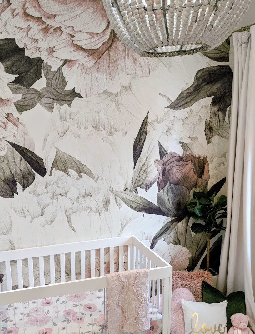 Jessi Malay's Nursery by Little Crown Interiors