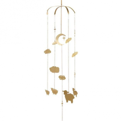 Elegant Gold Sheep Mobile