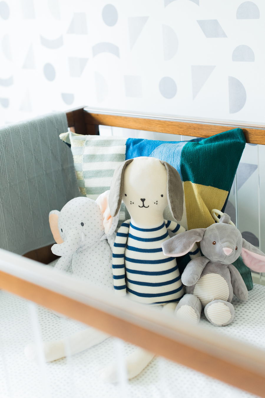 Gender Neutral Nursery Toys | Little Crown Interiors