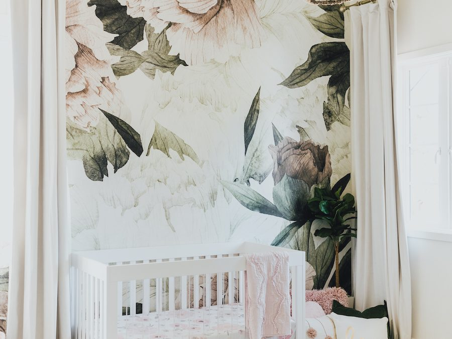 Jessi Malay's Floral Nursery Design Reveal!