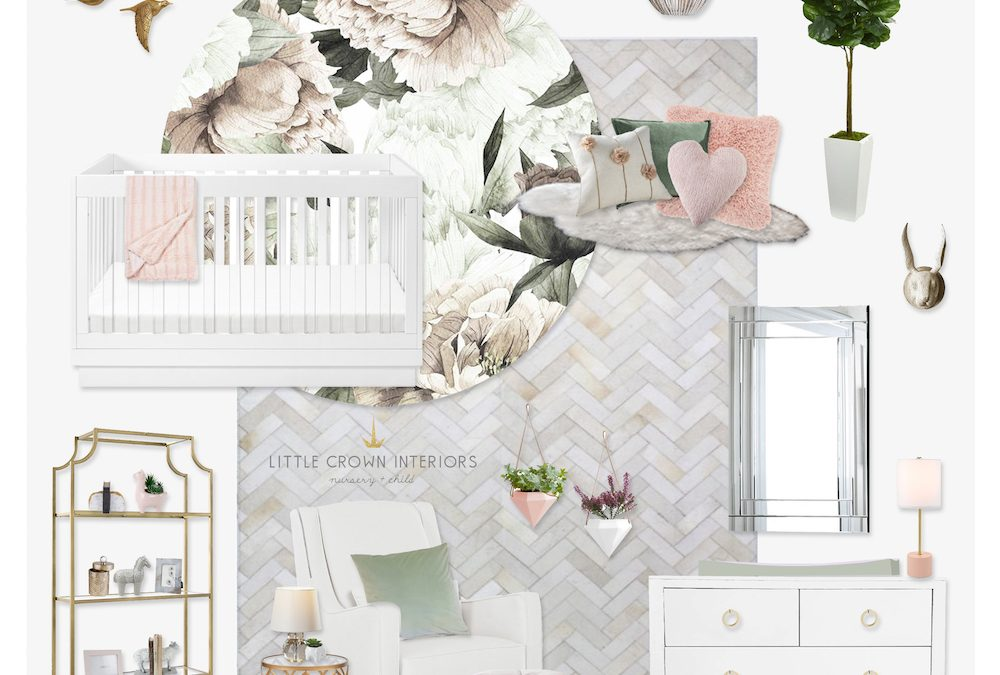 A Sneak Peek at Jessi Malay's Floral Nursery