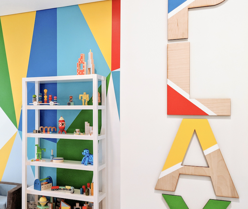 A Colorful Playroom Sneak Peek and Some Color Psychology