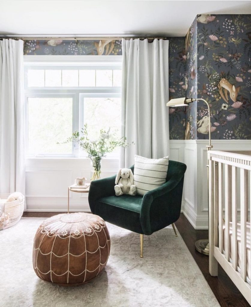 How to Install Curtains in the Nursery