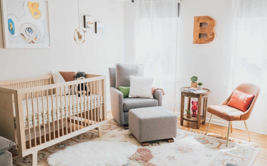 An Art Lover's Eclectic Nursery Reveal in Los Angeles