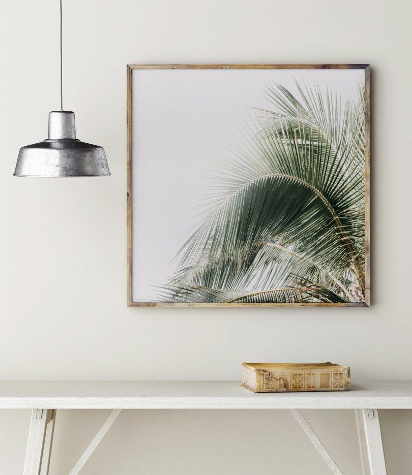 Palm Tree Art Print | Little Crown Interiors Shop