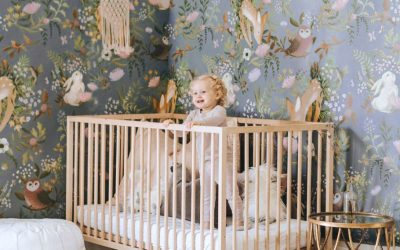 My Favorite Nursery Wall Murals Inspired by Nature