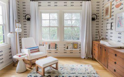 Inside Elizabeth Tulloch's Modern Bohemian Nursery