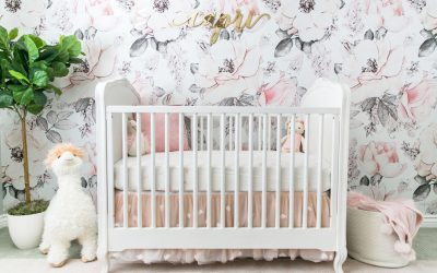 A Sweet Floral Inspired Nursery Design Reveal