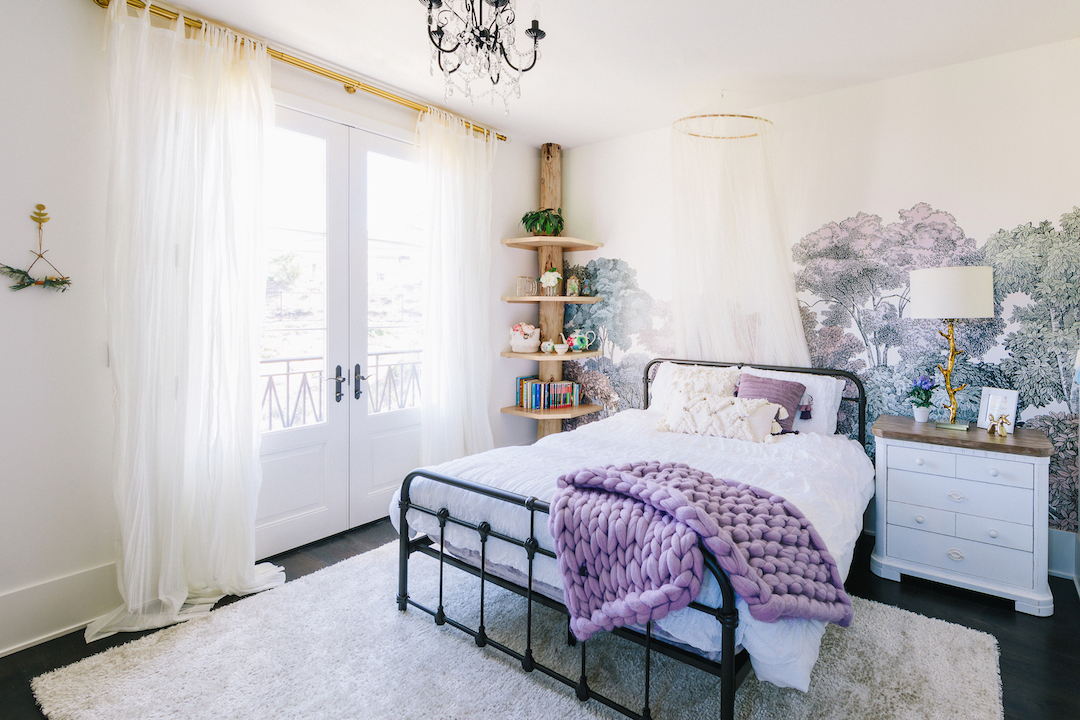 Nature Inspired Girlu0027s Room | Little Crown Interiors
