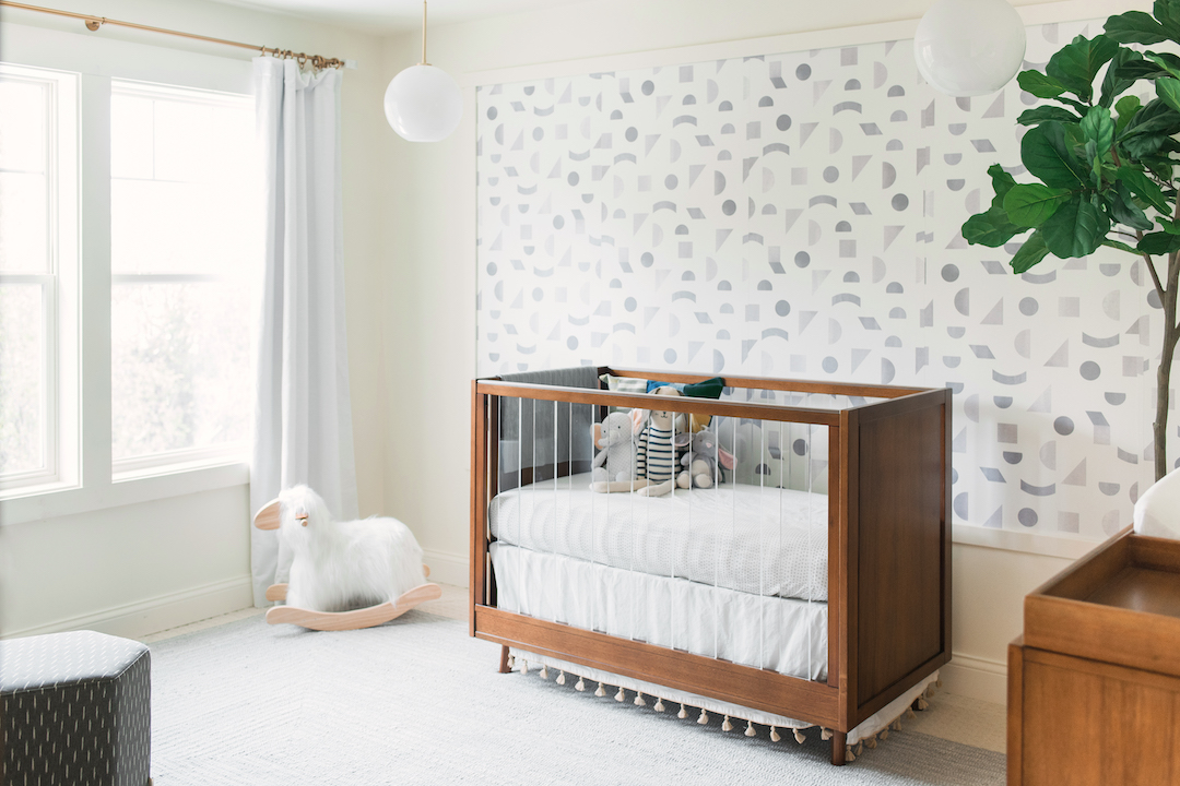 Jenna Kutcher's Nursery by Little Crown Interiors