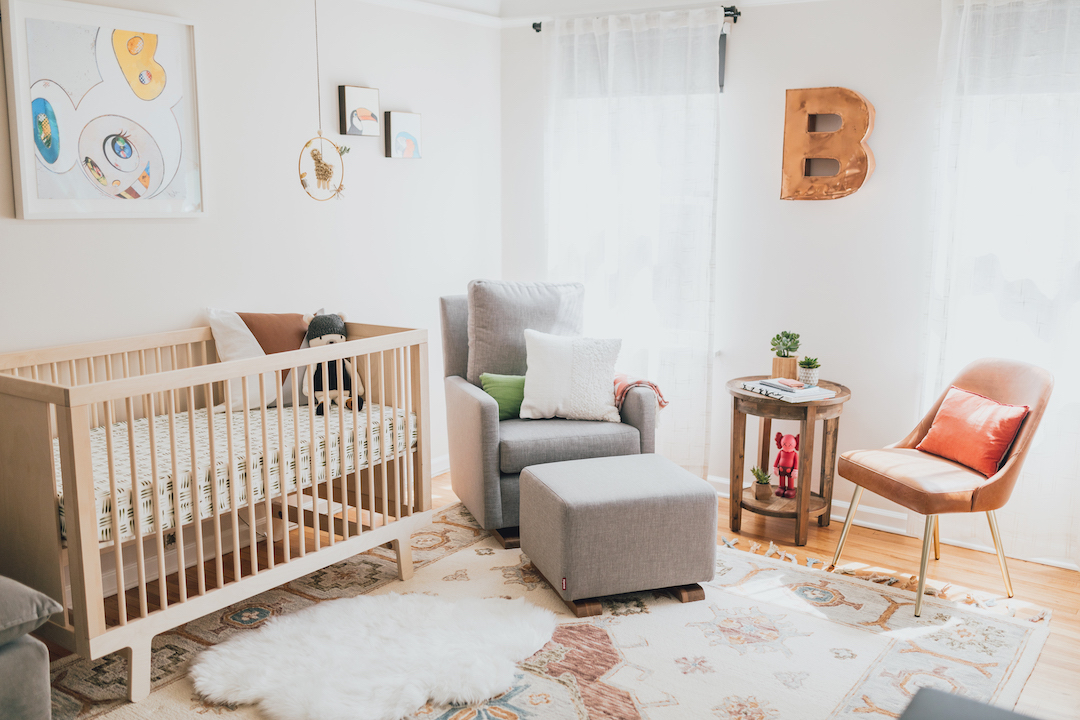 Modern Boy's Nursery | Little Crown Interiors
