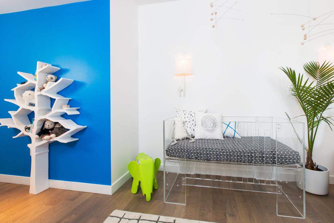 White modern nursery