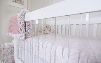 Accenting Your Nursery with Acrylic for a Contemporary Flair