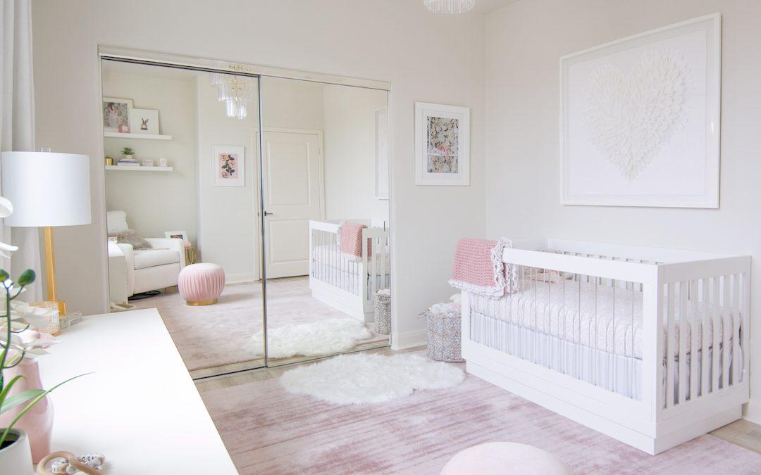 Design Reveal: Melissa Molinaro's Modern Blush Nursery