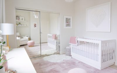 Design Reveal: Melissa Molinaro's Modern Blush Nursery
