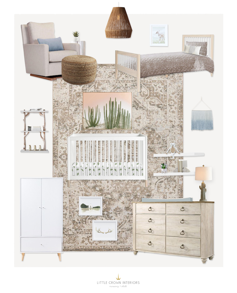 Jessi Malay's Nursery | Little Crown Interiors
