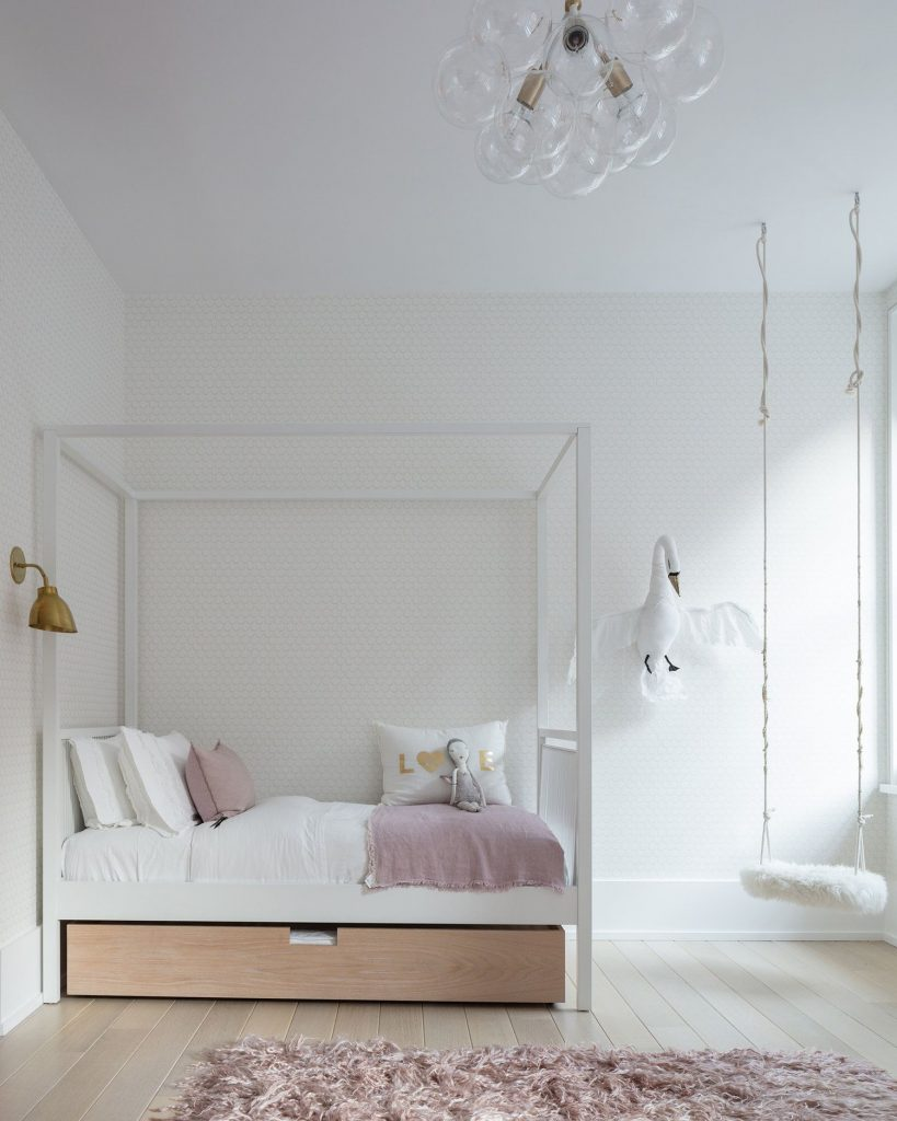 Minimalist Girl's Room by Sissy & Marley