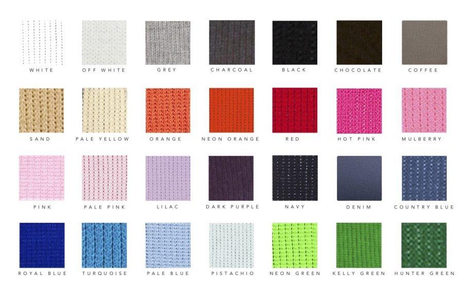 custom initial letter blanket color options