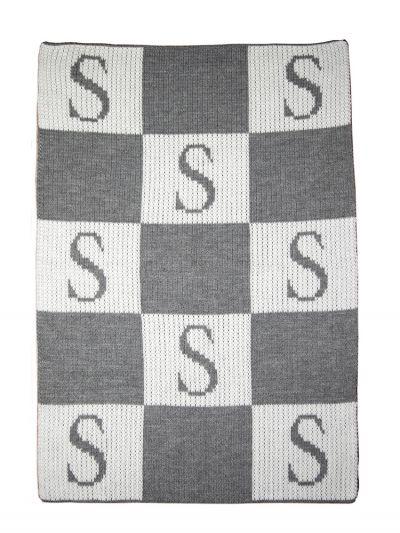 Custom Initial Letter Blanket