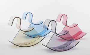 Acrylic rocking horse by Kartell