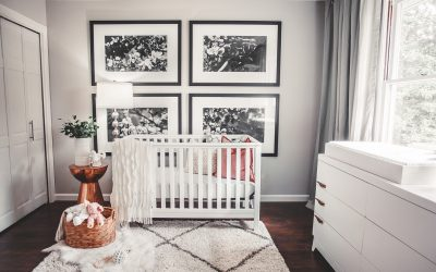 How to Use a Black and White Nursery Color Scheme